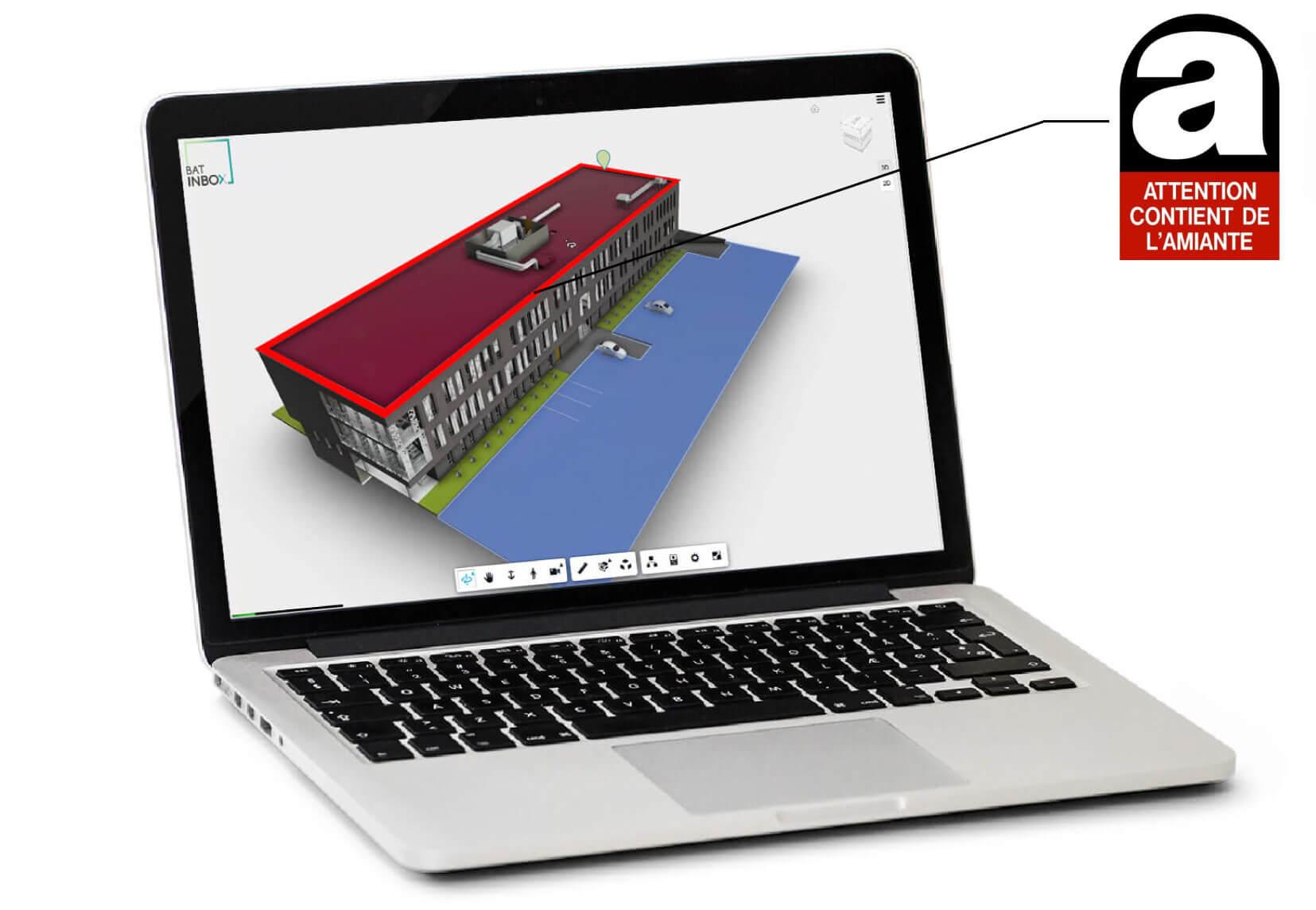 Batinbox repérage amiante 3D - bim