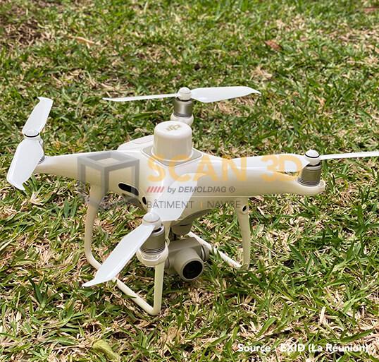 Photogrammetrie par drone